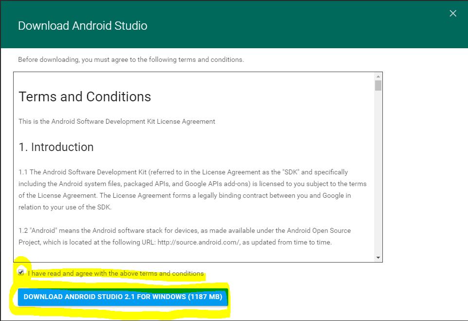 AndroidStudioインストール02