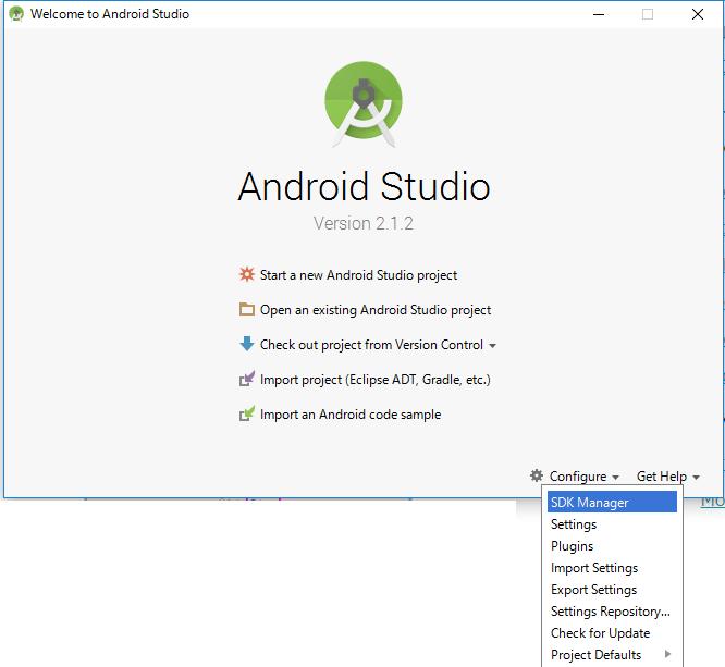 AndroidStudioインストール19